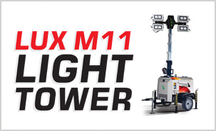 LUX M11 LIGHTING TOWER HOMEPAGE