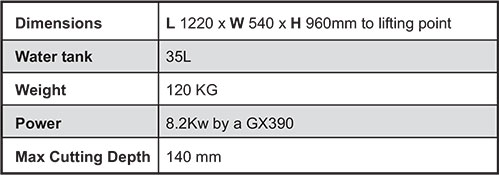Specifications CS450 ID