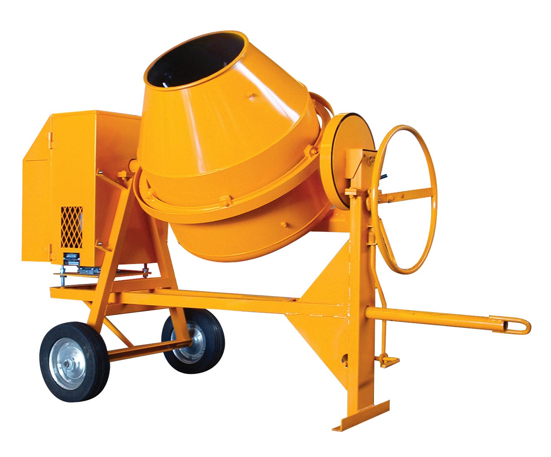 Medium Amp Heavy Duty Side Tilt Concrete Mixers Bm175