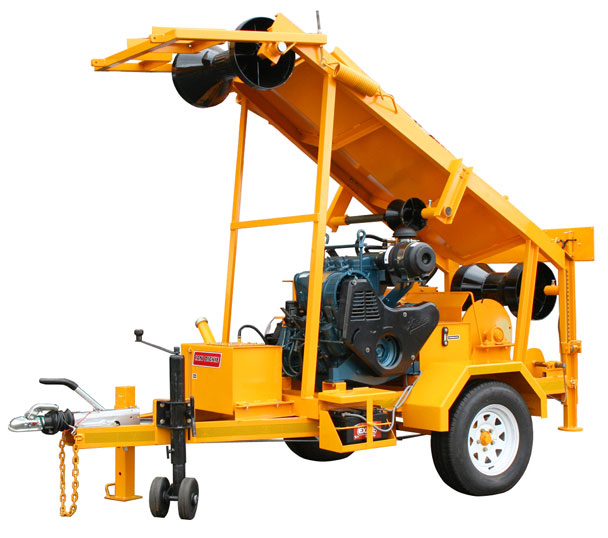 Hydraulic Drain Amp Culvert Winches Me209 Tlw Truck Loader