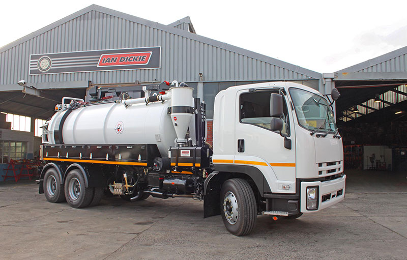 Truck mounted Vacuum & Jetting Machines : Truck Mounted