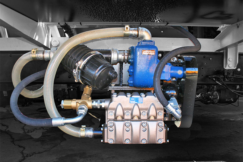 Blower Pumps For Trucks : Truck mounted vacuum jetting machines
