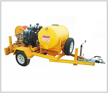 Mobile High Pressure Water Jetting Machines