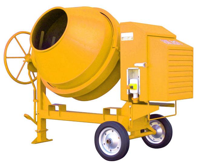 Medium & Heavy Duty Side-Tilt Concrete Mixers : BB500